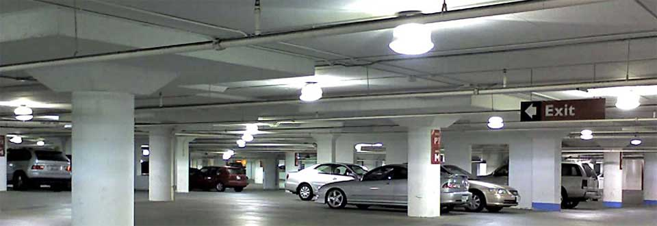 Led parking garage lighting